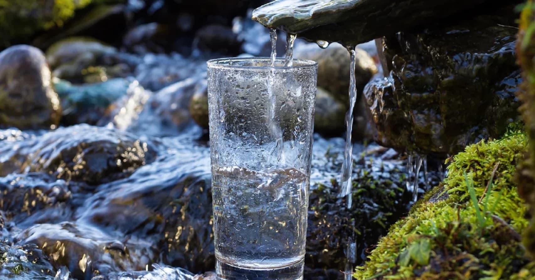 натуральная минеральная вода